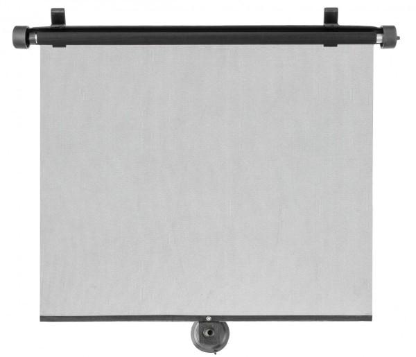 Sonnenschutzrollo Auto, 2er Set, 43 x 58 cm, grau