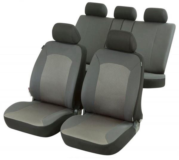 Autositzbezug Schonbezug, Komplett Set, Mazda 3, Grau