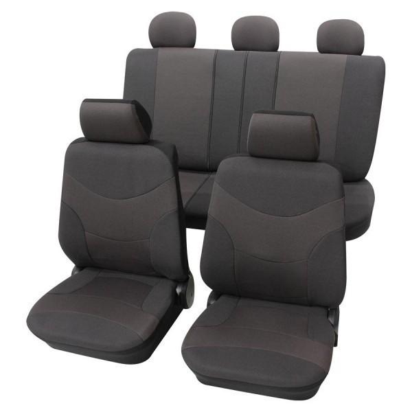 Autositzbezug Schonbezug, Komplett-Set, Alfa Romeo 155, Grau Anthrazit