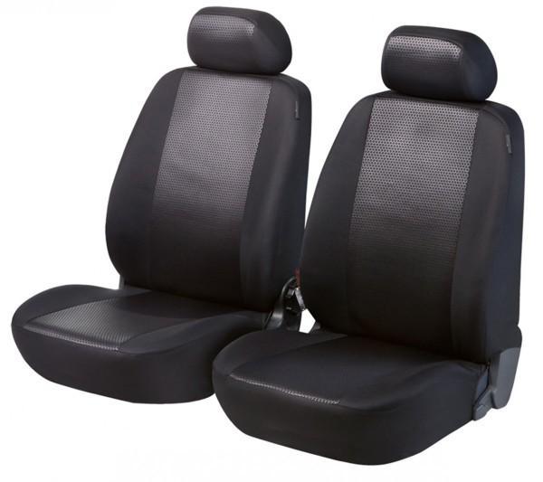 Autositzbezug Schonbezug, Vordersitzbezüge, Suzuki Alto, Schwarz