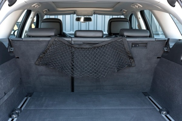 Gepäcknetz Rückbank, schnell montiert, elastisch, 30 x 56 cm, schwarz