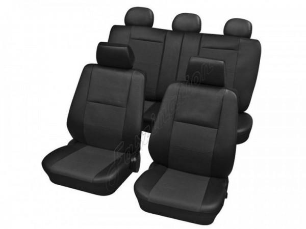 Autositzbezug Schonbezug, Komplett-Set, Peugeot, 106 ohne Seitenairbag, 205, 206/206+ ab 4/2009, 207