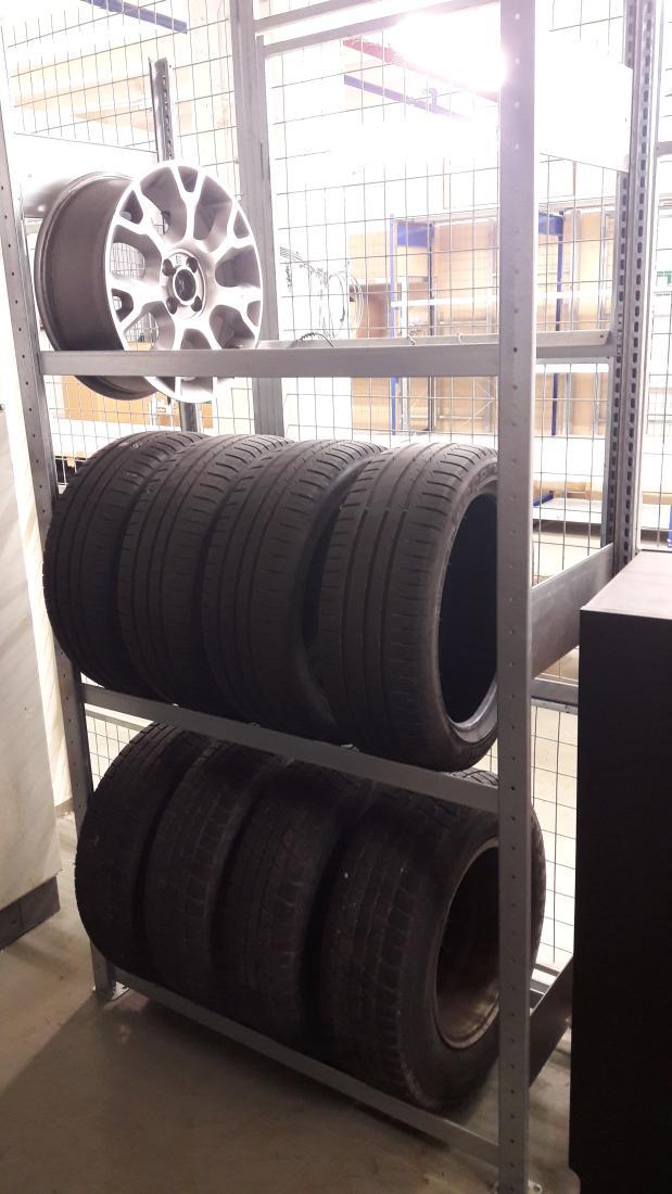 Reifen-stapeln