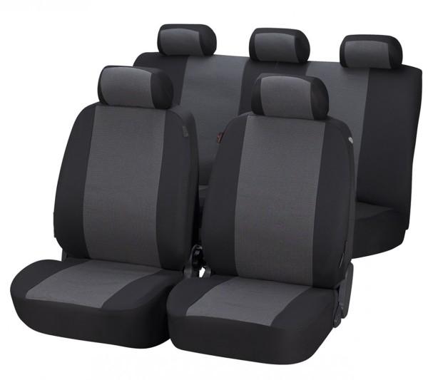 Autositzbezug Schonbezug, Komplett Set, Suzuki Splash, Grau