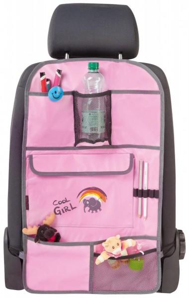 Rücksitztasche für Kids, praktisch, universell passend, 40 x 70 cm, rosa