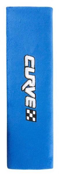 Gurtpolster für Kids ab 5 Jahren, kuschelig, 230 x 10 x 65 mm, blau