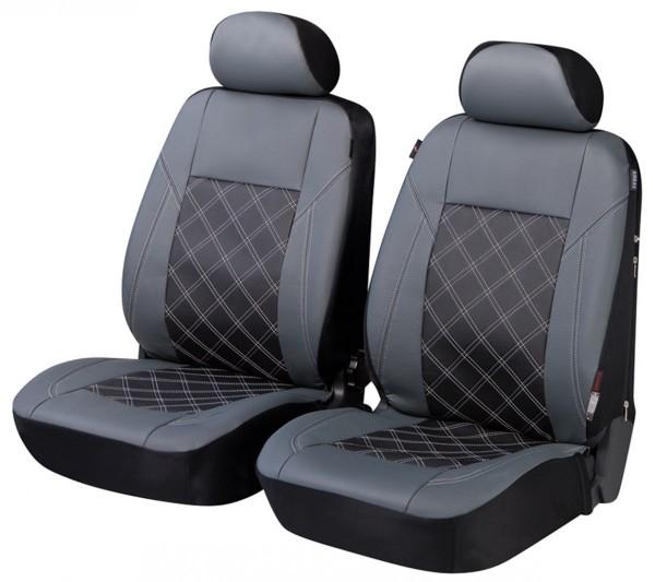 Autositzbezug Schonbezug, Vordersitzbezüge, BMW 7er, Grau, Schwarz
