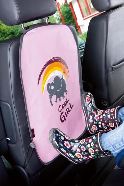 Rückenlehnenschutz, praktischer Schutz, leichte Montage, 40 x 62 cm, rosa