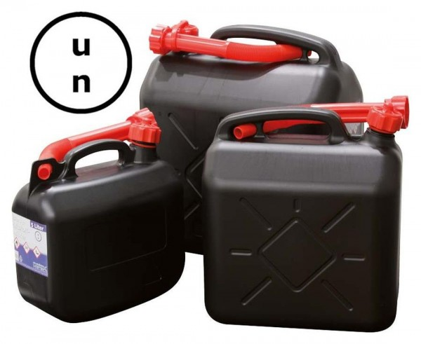 Hervorragend Benzinkanister, 5 Liter, UN-Zugelassen, schwarz | Fahrzeugfreund RQ98