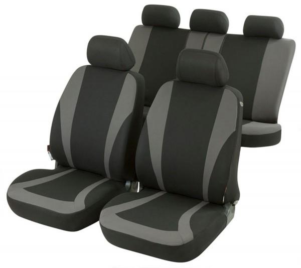 Autositzbezug Schonbezug, Komplett Set, Toyota 4 Runner, Schwarz, Grau
