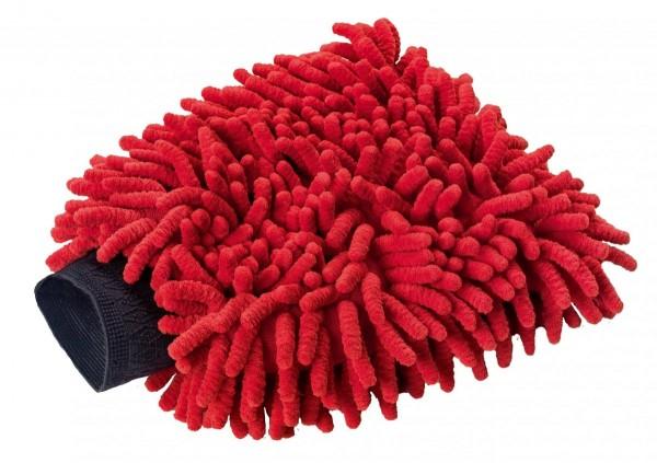 Auto Waschhandschuh Mikrofaser Schonend Zum Lack 160 X 265 Mm Rot Fahrzeugfreund