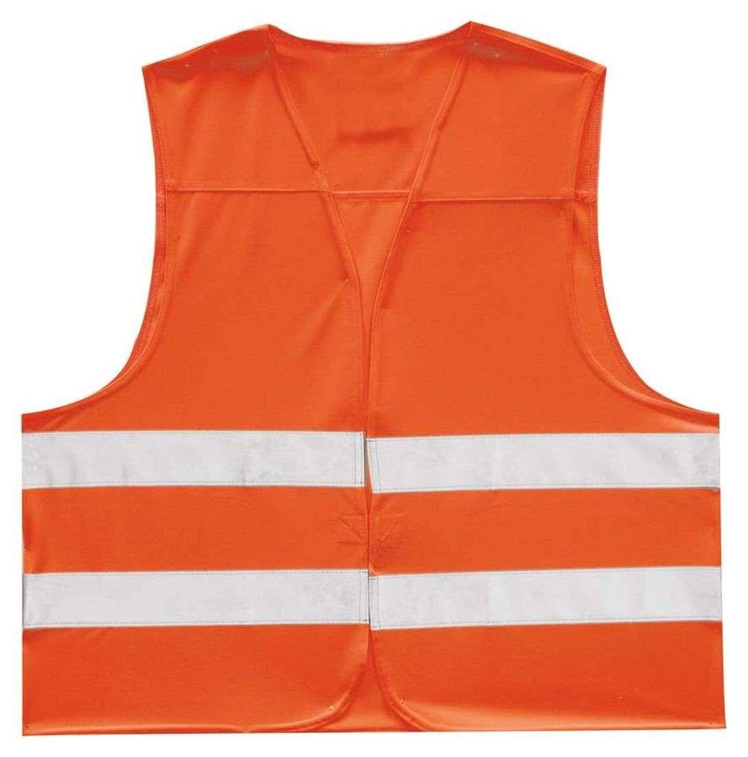 sicherheits warnweste für erwachsene grösse xxl orange