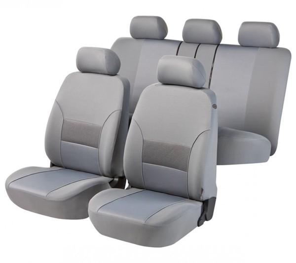 Autositzbezug Schonbezug, Komplett Set, BMW 7er, Grau