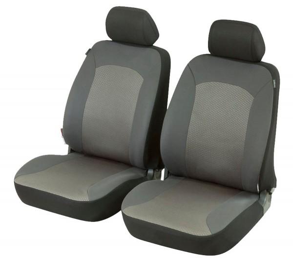 Autositzbezug Schonbezug, Vordersitzbezüge, Peugeot 106, Grau