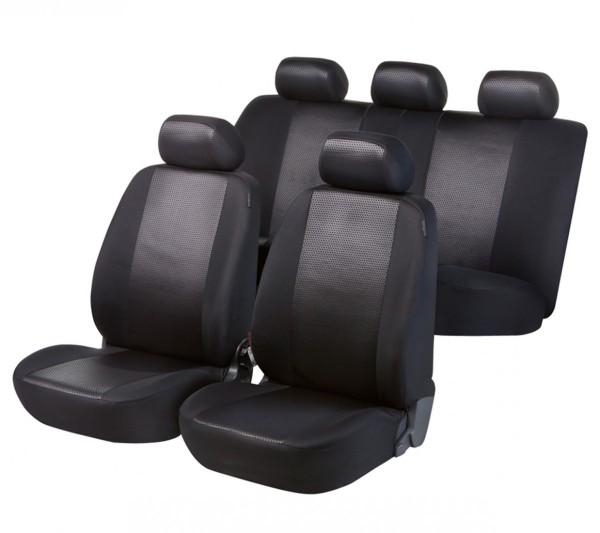 Autositzbezug Schonbezug, Komplett Set, Toyota Camry, Schwarz