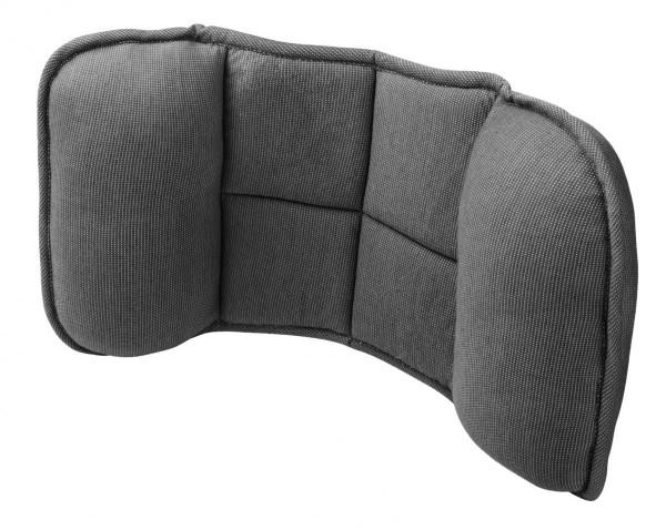 Rückenstütze Auto, soft, entspannend, 24 x 45 cm, schwarz