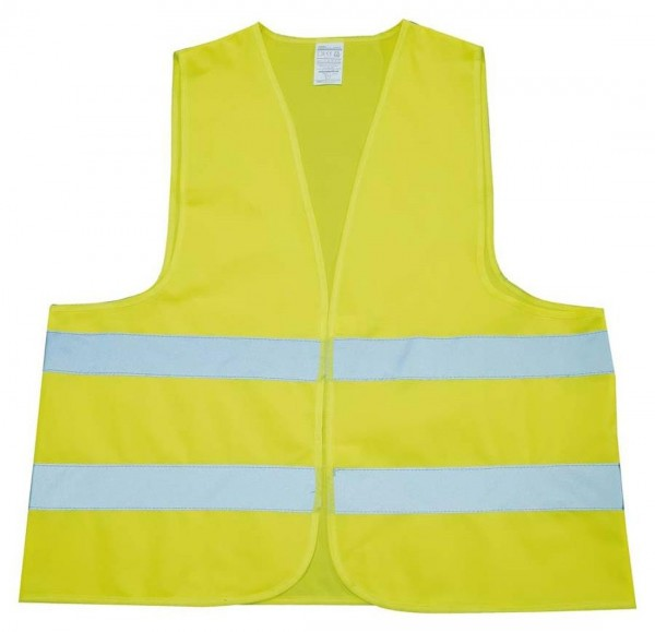 Sicherheits-Warnweste, für Erwachsene Grösse L, gelb