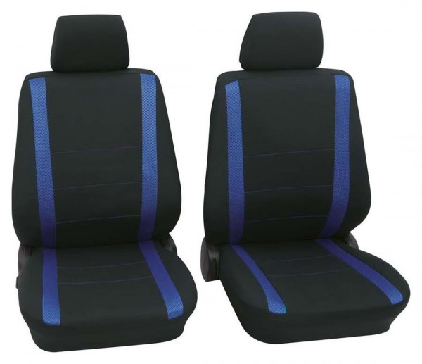 Autositzbezug Schonbezug, Vordersitzbezüge, Subaru nur Vordersitzbezüge, Schwarz, Blau