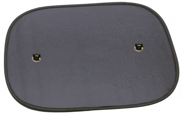 Auto Sonnenschutz, einfache Montage, Seitenscheiben, hilfreich, 44 x 36 cm, schwarz