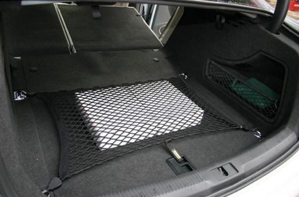 Gepäcknetz universal, einfache Montage, 50 x 80 cm, schwarz