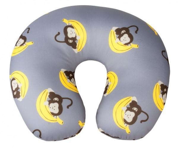 Nackenhörnchen für Kinder ab 5 Jahren, 30 x 30 cm, grau